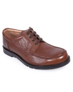 Apex Brown Leather Boat Shoe For Men
