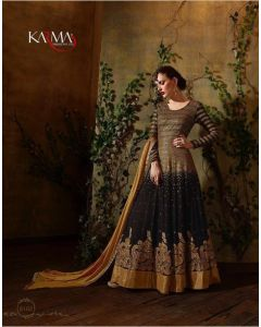 BLACK KARMA TRENDS ANARKALI DRESS